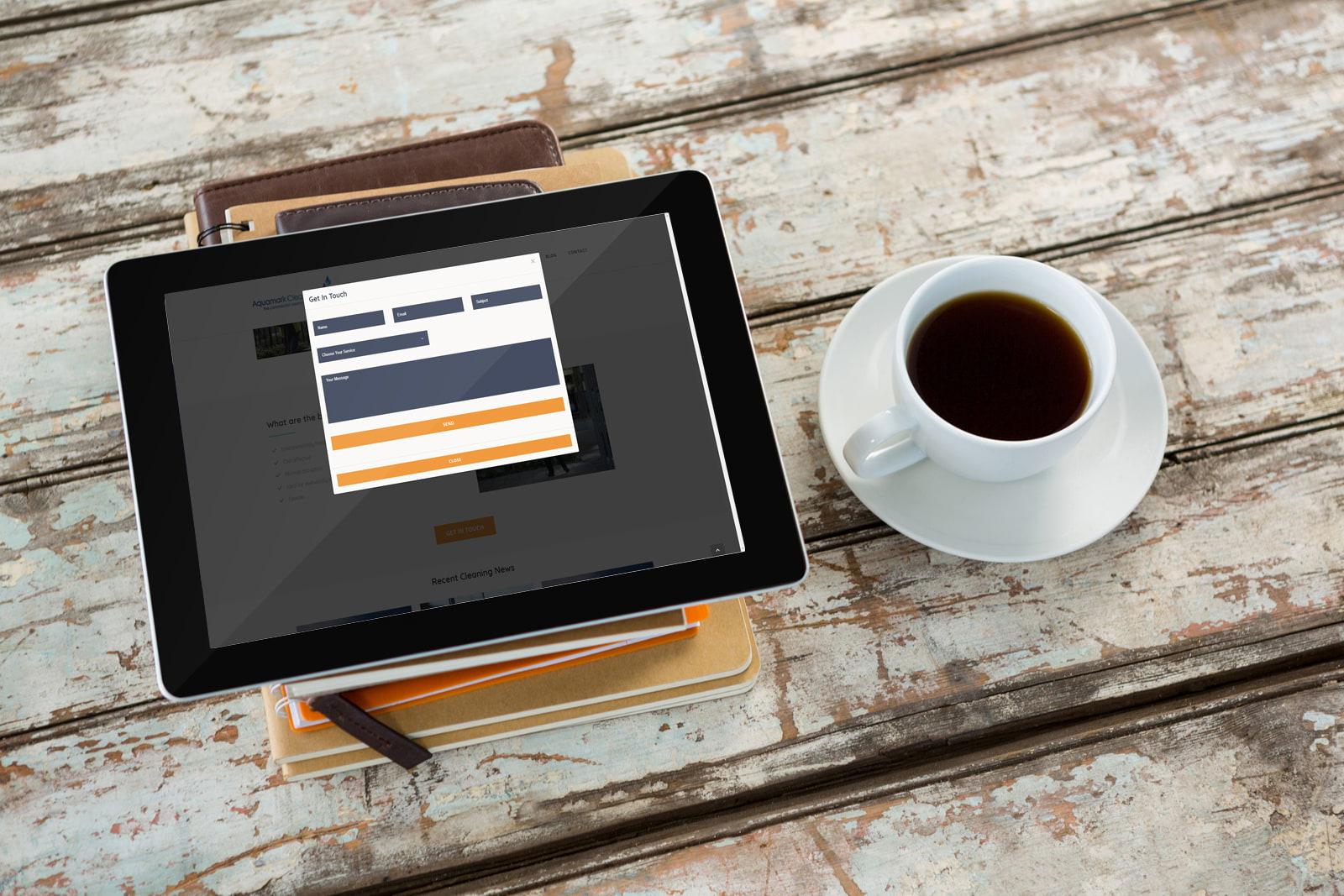 Wordpress website in Surrey from JJ Solutions