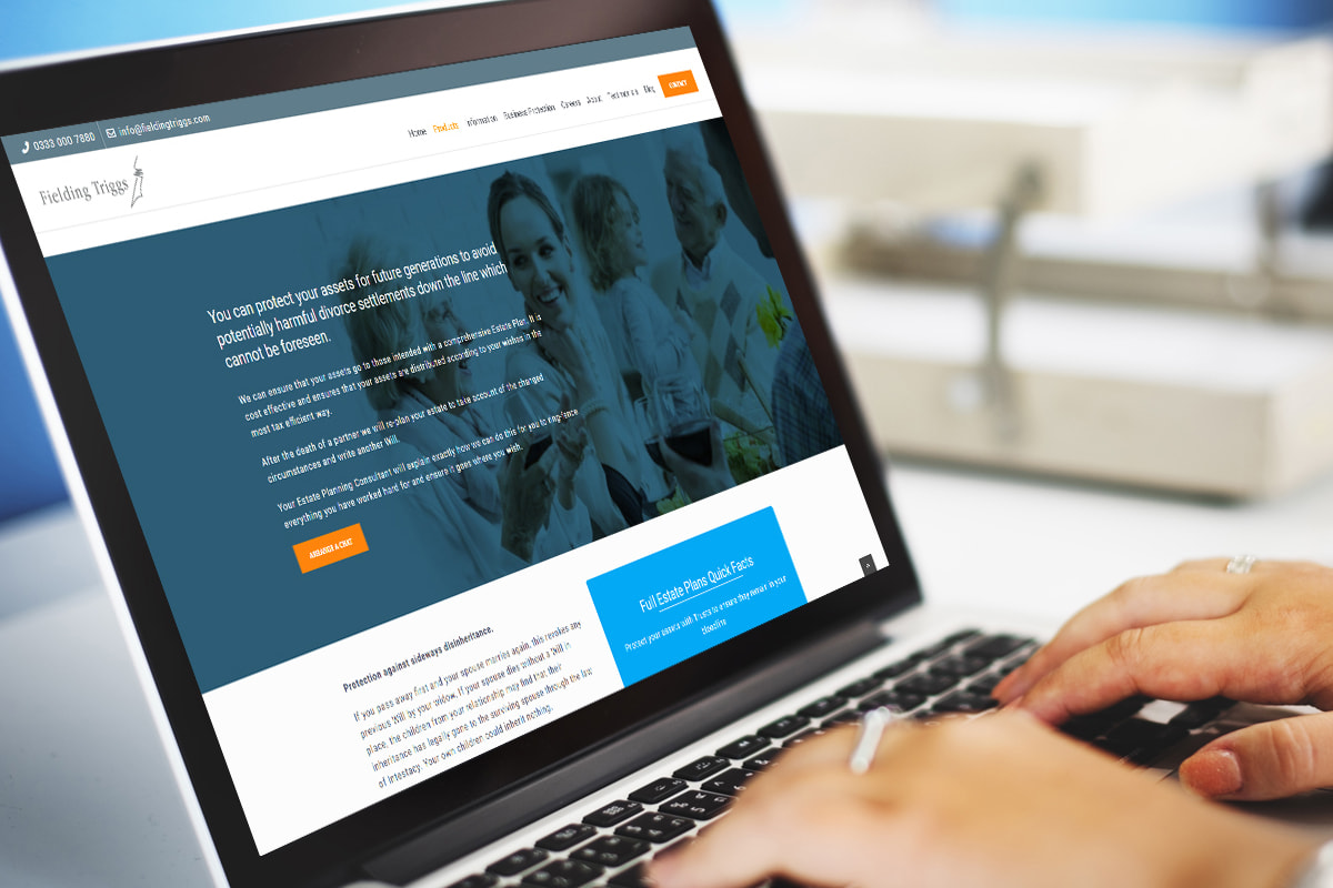 Fielding Triggs - Will writing specialists in Surbiton website designed by JJ Solutions