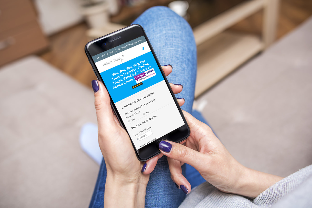 Mobile friendly website for legal business in Surbiton from JJ Solutions