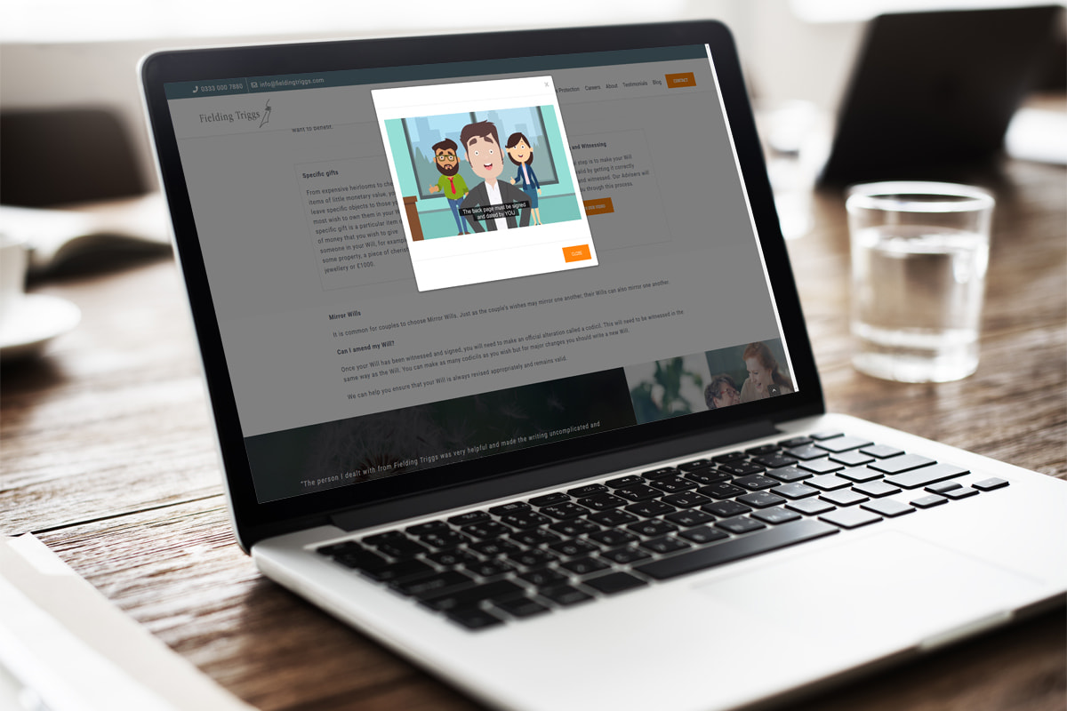 FCA approved website creation from JJ Solutions in Surbiton