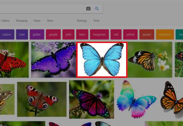 Don't use images from Google for your website