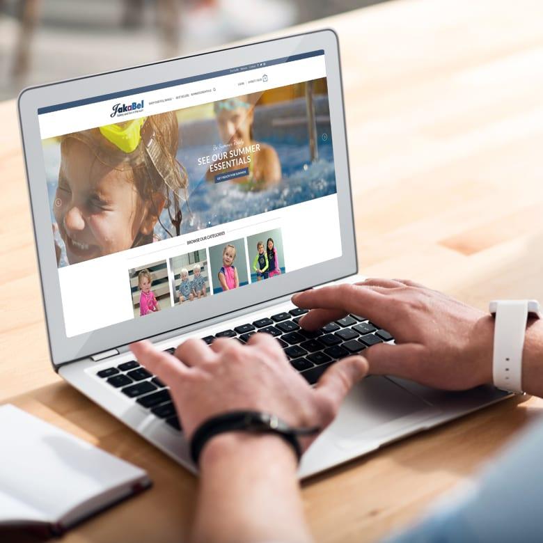 JJ Solutions website design in Surrey for Jakabel