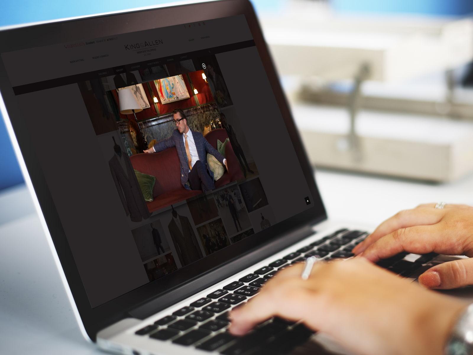 Bespoke WordPress web design from JJ Solutions in Surbiton