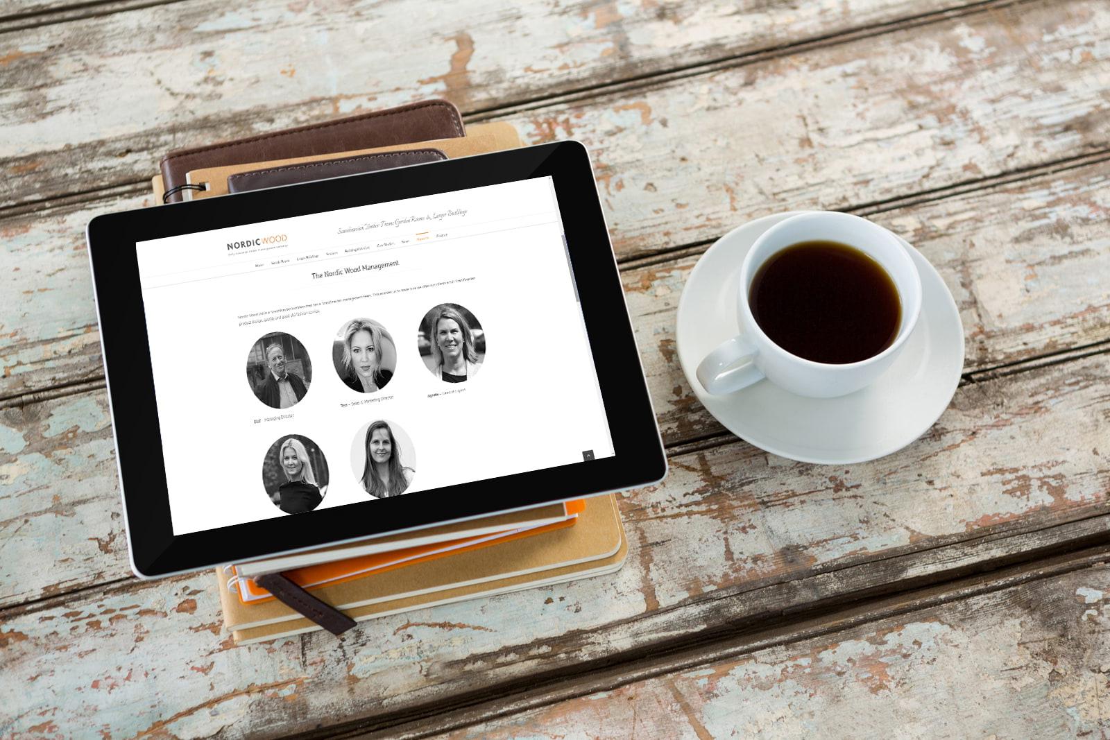 Brochure based website designed by JJ Solutions in Surrey