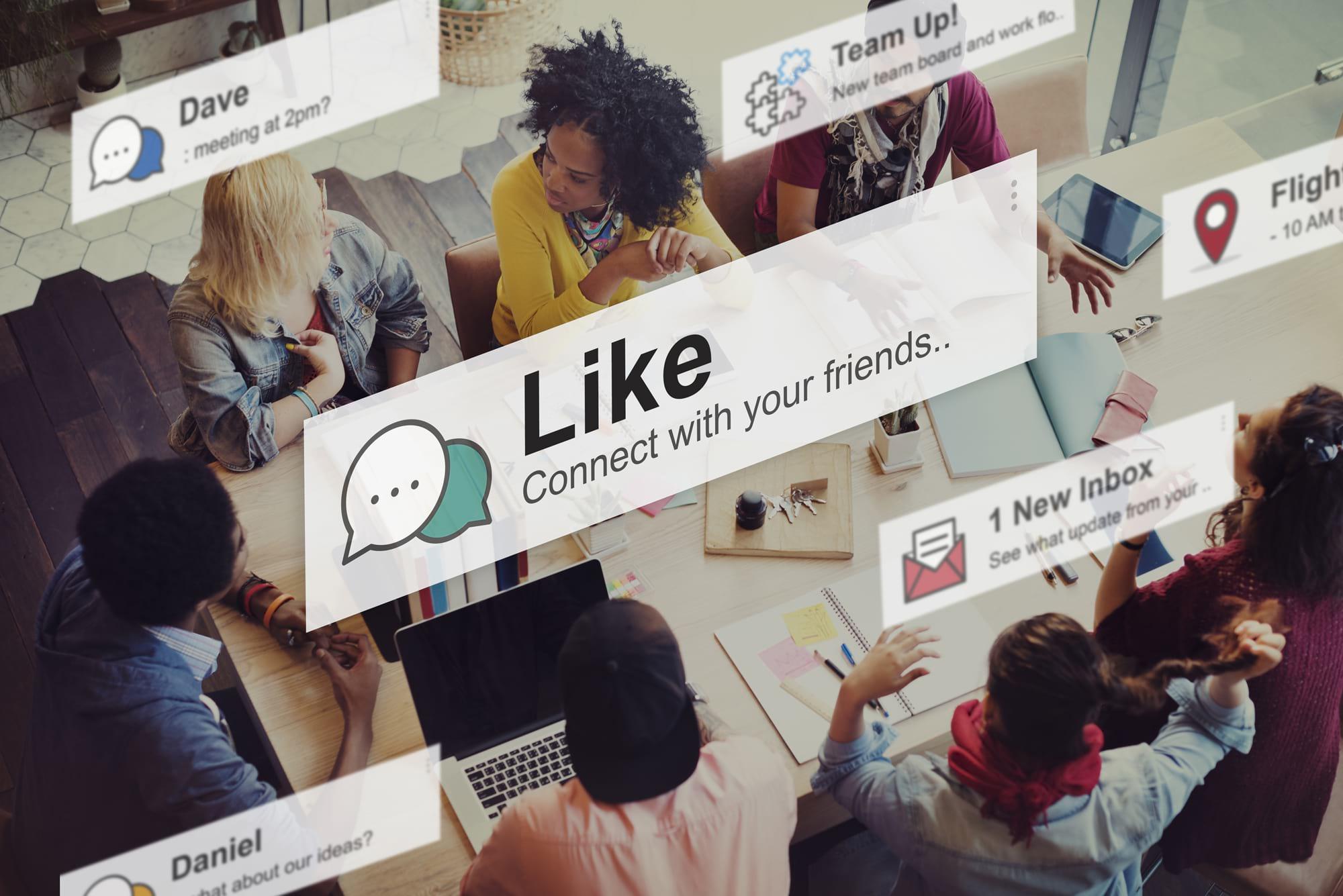 Social media support in Surrey
